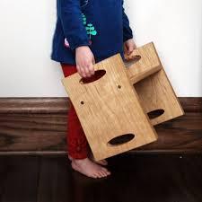 7 fun modern handmade step stools for kid