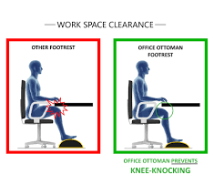 Under The Desk Foot Rest by Foot Rest Under Desk Non Slip Foam Cushion Easy Posture Brands