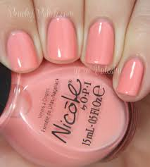 nicole by opi 2014 core shades swatches u0026 review peachy polish