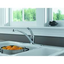Delta 200 Kitchen Faucet by Delta Faucet B1310lf Foundations Polished Chrome One Handle