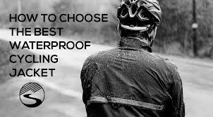 best winter bike jacket how to choose the best waterproof cycling jacket