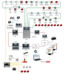 wiring diagram for fire alarm system with a smoke detector