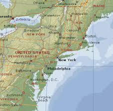 usa east coast map map usa east coast states major tourist attractions maps