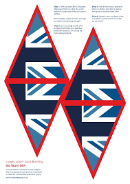 lovely design free printable union jack bunting
