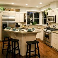 dining u0026 kitchen kitchen hood and kitchen island with table