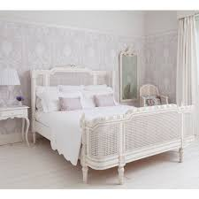 provencal lit lit white rattan bed king rattan bedrooms and