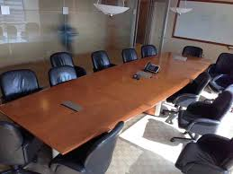 used conference room tables 16 ft nienker conference table cubeking