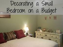 design tips for decorating a small bedroom on a budget regarding