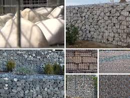 Steine Fur Gartenmauer Rund Um Gabionen Selber Bauen Montagegarten Pflanzen