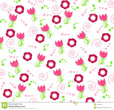 wallpaper with flower ornaments stock photography image 13418412