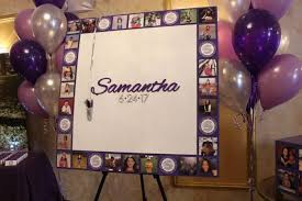 bat mitzvah sign in boards sign in boards balloon artistry