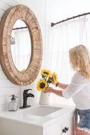 best 25 wood mirror ideas on pinterest mirrors pallet mirror