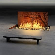 Heating Outdoor Spaces - corten water heating pacifica outdoor living collection