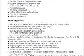 Sample Welder Resume by Professional Welder Resume Samples Professional Welder Resume