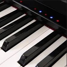 keyboard that lights up to teach you how to play the one smart piano a piano that teaches you to play
