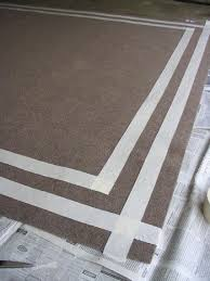 Painting An Outdoor Rug How To Paint An Indoor Outdoor Rug Diy Design Indoor Outdoor