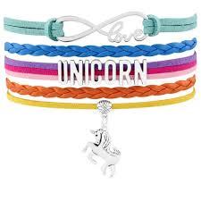 infinity love leather bracelet images Unicorn heart infinity love leather bracelet hiphobbie store jpg