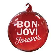 jbjsk clear ornament i bon jovi clear ornaments