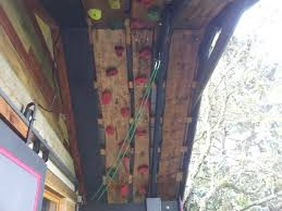 garden shed climbing wall 10 steps with pictures