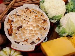 emeril s sweet potato marshmallow casserole recipe abc news