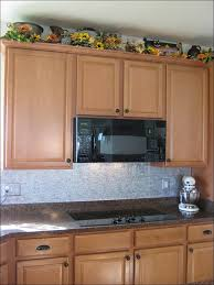 kitchen peel and stick glass tile backsplash black backsplash