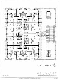 Louis Kahn Floor Plans by The Gregory The Pearl District Portland Oregon Obsidian