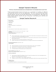 Resume Additional Information 15 Simple Format Of Resume For The Post Of Teacher Sendletters Info