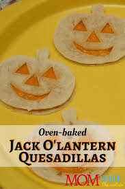 Food Idea For Halloween Party by Halloween Recipe Jack O U0027lantern Quesadillas