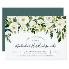 bridesmaid brunch invitation bridesmaid luncheon invitations announcements zazzle