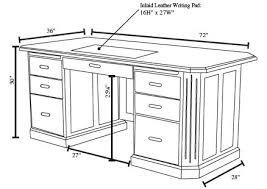Standard Drafting Table Size Executive Desk Size Search Furniture Pinterest