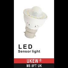 pir led light bulb bc b22 3w pir presence motion sensor detector led light bulb cool