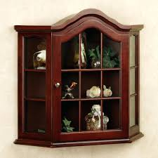 curio cabinet with light monumental small curio cabinet corner white www