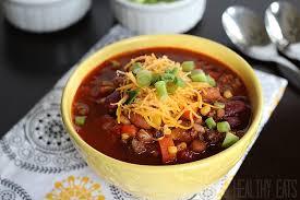 three bean u0026 beef crock pot chili chili recipes