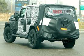 spy shots 2018 jeep wrangler jl inches closer to production 2018