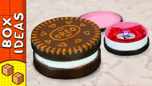 diy oreo gift box craft ideas for kids on box yourself youtube
