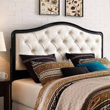 inspirational tufted headboard overstock 75 in headboard pillow