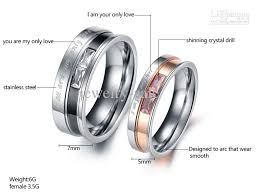 love rings designs images New arrival stainess steel couple rings balck rose gold colored jpg