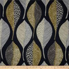 robert allen home woodblock leaf indigo discount designer