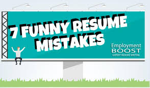 Funny Email Addresses On Resumes 7 Unbelievable But Funny Real Life Resume Mistakes