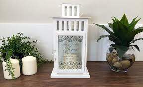 personalized candle buy custom personalized candle lanterns made to order from