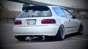 honda civic hatchback modified honda civic 95 hatch youtube
