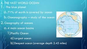the ocean floor chapter 14 pg ppt video online download