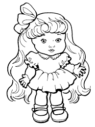 free barbie doll coloring pages alltoys