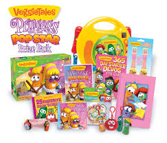 veggie tales diva veggietales princess and the popstar prize pack