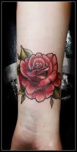 red neck rose tattoo by matt webb hull uk photo from instagram