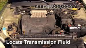 hyundai elantra transmission fluid add transmission fluid 1999 2001 hyundai sonata 2000 hyundai