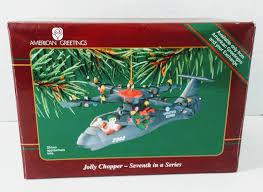 american greetings ornament operation santa jolly chopper 7th in