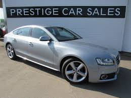 used audi a5 s line for sale used 2010 audi a5 3 0 tdi s line sportback s tronic quattro 5dr