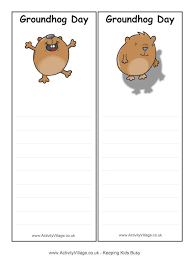groundhog day bookmarks 2