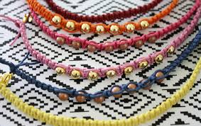 diy hemp bracelet tutorial the alison show